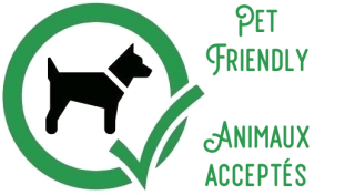 Pet friendly / animaux acceptés